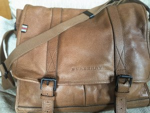 Burberry Tasche, Messenger, Aktentasche, Leder
