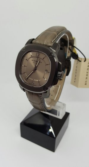 Burberry Automatisch horloge bruin-donkergrijs