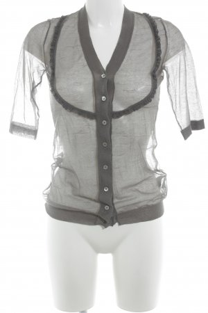 Burberry Transparent Blouse grey casual look