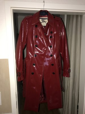 Burberry Trench Bordeaux Lack NEU
