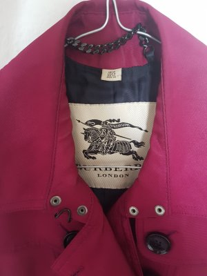 Burberry Trench Coat, Magenta pink