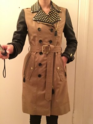 Burberry Trench Mantel Leder