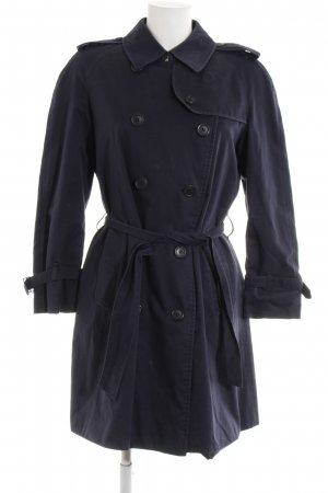 Burberry Trenchcoat blau Casual-Look