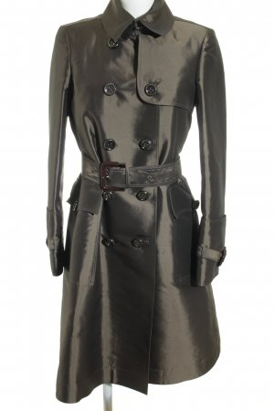 Burberry Trenchcoat groen-grijs wetlook