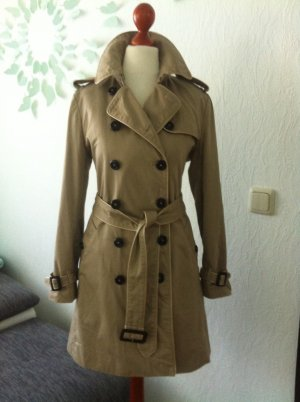 Burberry Trenchcoat Heritage UK8 S 36 Honey Sandringham Kensington