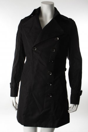 Burberry Trenchcoat schwarz Business-Look