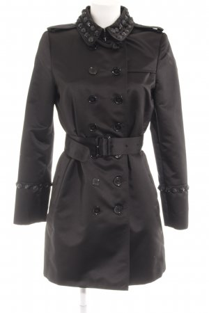 Burberry Trenchcoat schwarz extravaganter Stil