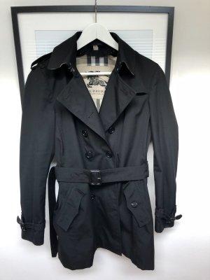 Burberry Trenchcoat zwart Katoen