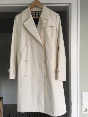 Burberry Trenchcoat weiß Größe 38