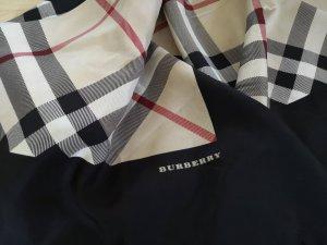 Burberry London Bufanda de seda crema