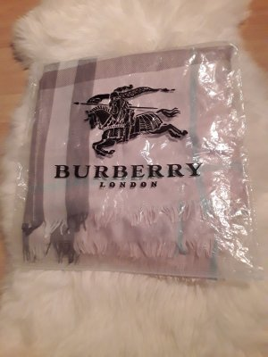 Burberry London Écharpe en soie multicolore
