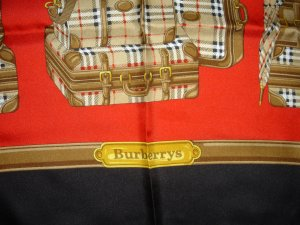 Burberry, Tuch, Seide, Made in Itay, NEU