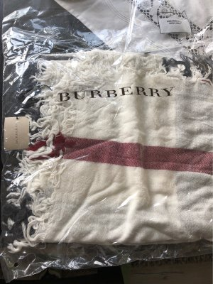 Burberry Neckerchief natural white-dark red