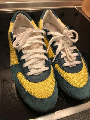 Burberry Sneakers veelkleurig Suede