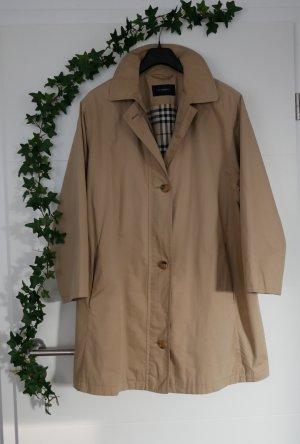 Burberry Übergangsmantel Gr42 M/L Mantel/Trenchcoat beige Jacke lang