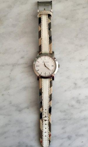 Burberry Uhr, mit markentypischem Muster