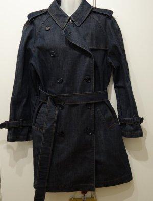 BURBERRY UK Denim Mantel Jeans Gr. 38/40 Vintage Retro Designer Blogger Chic