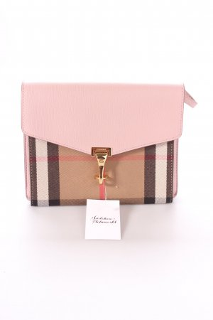 "Burberry Umhängetasche ""Macken Crossbody House Check Derby Leather Pale Orchid"""