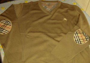 Burberry V-Pullover/Sweater