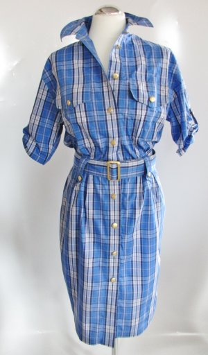Burberrys of London Shirtwaist dress multicolored cotton