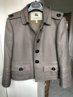 Burberry Short Jacket grey brown-grey wool