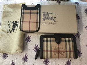 BURBERRY Wallet & IPhone Case Set