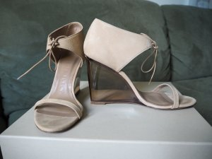 BURBERRY Wedge Wildleder Acrylabsatz 36 (Originalpreis 750,-)