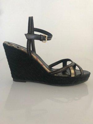 BURBERRY Wedges Keilabsatz Sandalen Original sehr guter Zustand