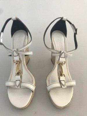 BURBERRY Wedges Keilabsatz Sandaletten Original sehr guter Zustand