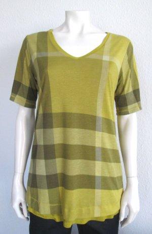 BURBERRY Wende-Shirt Gr. M V-Ausschnitt