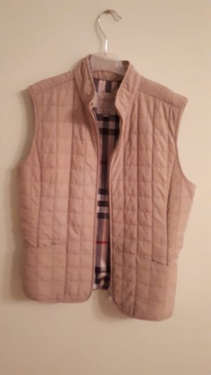 Burberry Quilted Gilet beige-nude