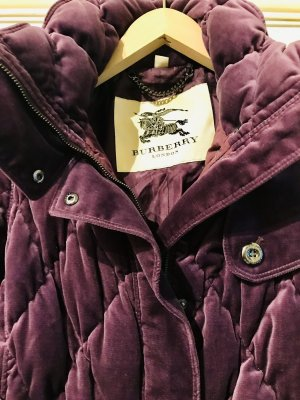 Burberry Piumino viola scuro-marrone-viola