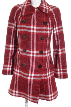 Burberry Manteau d'hiver motif à carreaux style anglais