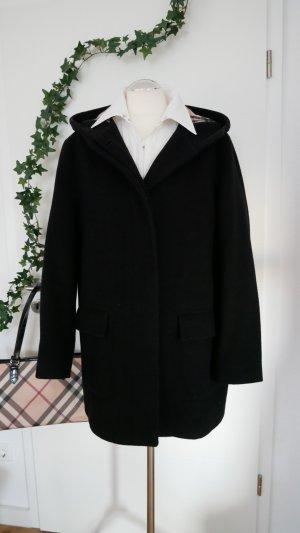 Burberry Capuchon jas zwart-goud