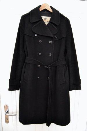 Burberry Manteau d'hiver noir laine