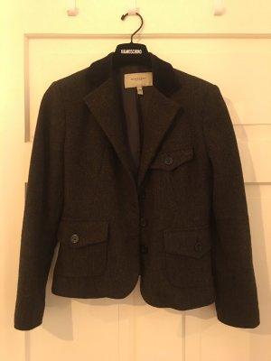 Burberry Blazer in lana marrone scuro Lana
