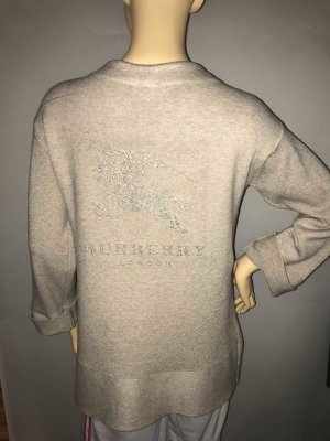 Burberry Woll Pullover Cardigan in gr 40 Farbe Beige