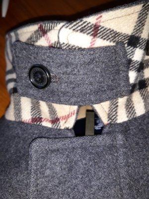 Burberry London Giacca di lana grigio scuro Lana