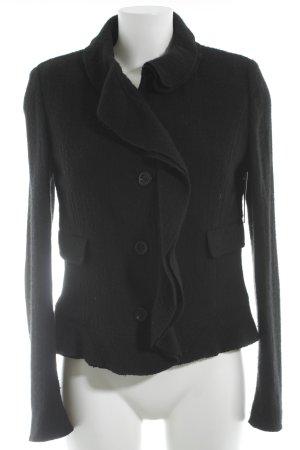 Burberry Wolljacke schwarz Elegant