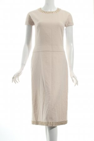 Burberry Wollkleid creme Casual-Look