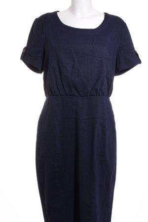 Burberry Wollkleid dunkelblau Elegant
