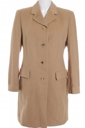 Burberry Wollmantel camel Casual-Look