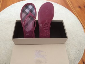 Burberry Shoes multicolored synthetic material