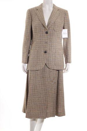 Burberrys of London Hosenanzug hellbraun-khaki Karomuster klassischer Stil