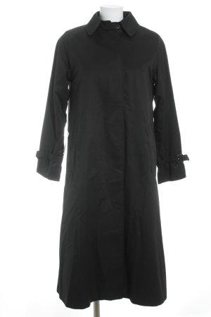 Burberrys' Trenchcoat schwarz Brit-Look