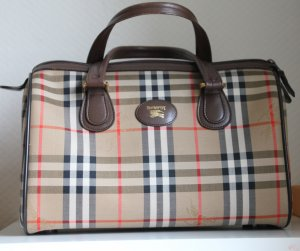 Burberrys of London Carry Bag sand brown-brown textile fiber