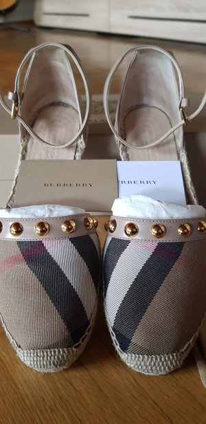 Burberry Sandalen met hoge hakken veelkleurig
