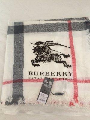 Burburry leichter Kaschmir Schal im Karo Muster