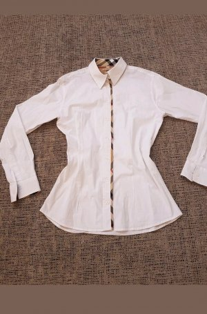 Burberry Blouse wolwit-wit