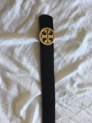 Tory Burch Double Belt black-brown